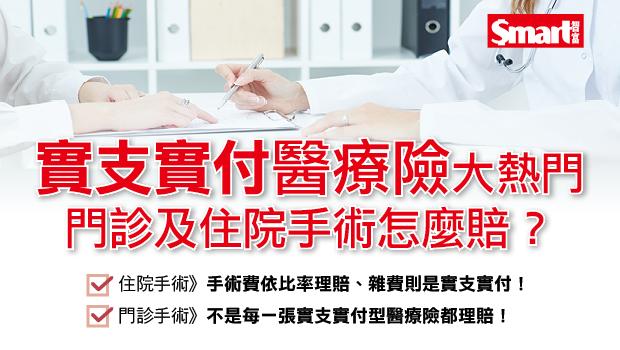 實支實付型醫療險大熱門 門診及住院手術怎麼賠?