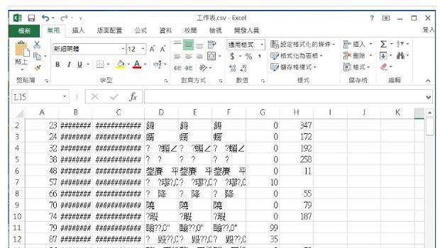 Excel打開是亂碼? 換一個「開啟方式」找回所有資料!