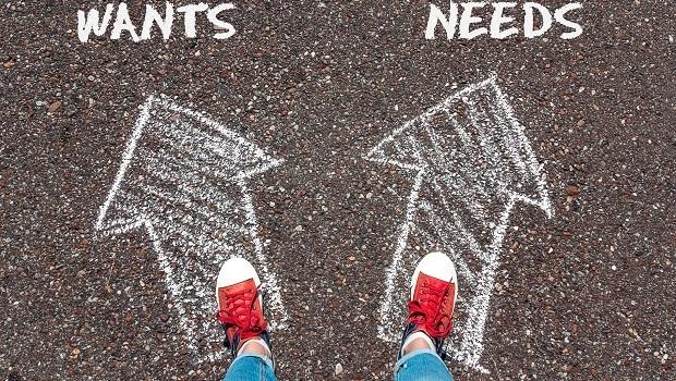 轉念富一輩子》簡單一招!教你如何分辨「想要」和「需要」