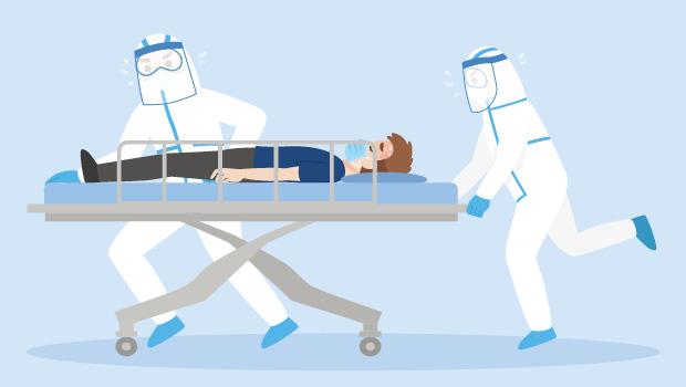 疫情高峰期,醫療量能吃緊!前線醫護人員工作量、壓力都倍增...