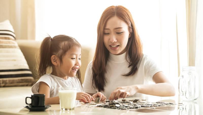 7個建立孩子正確金錢觀的方法